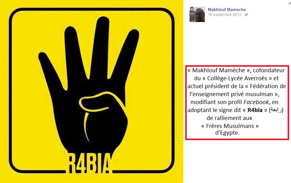 signe de raliment de Makhlouf mamèche au signe de Rabia
