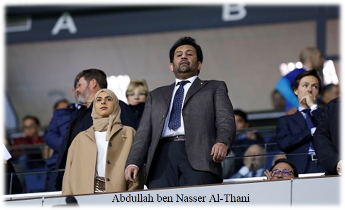 9- Abdullah ben Nasser Al-Thani